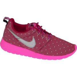 Nike Rosherun Print Gs W-sko 677784-606 pink