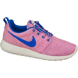 Nike Rosherun Print W 599432-137 sko pink