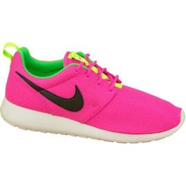 Nike Rosherun Gs W 599729-607 sko pink