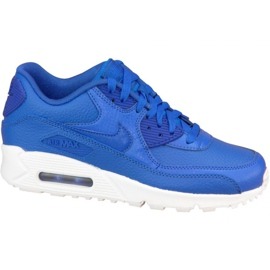 Nike Air Max 90 Ltr Gs W 724821-402 sko navy