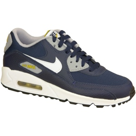 Nike Air Max 90 Gs W 307793-417 sko navy