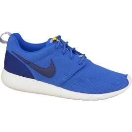Nike Roshe One Gs W sko 599728-417 blå