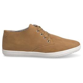 Fashionable høje 3232 kamel sneakers brun