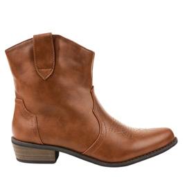 Brun støvler på cowboy støvler 928-1