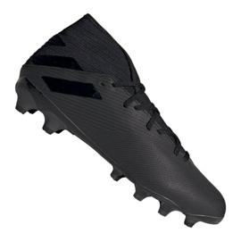 Adidas Nemeziz 19,3 Mg M EF8874 sko sort sort