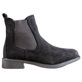 Ideal Shoes Casual Jodhpur støvler sort