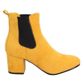 Gule Jodhpur støvler gule 2208-132 Gul