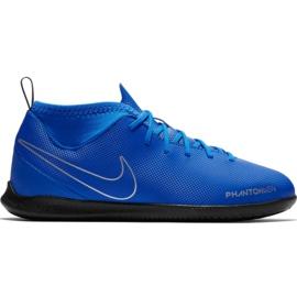 Nike Phantom Vsn Club Df Ic Jr AO3293 400 fodboldsko blå blå