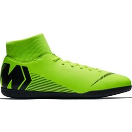 Nike Mercurial Superfly X 6 Club Ic M AH7371 701 fodboldsko sort, grøn grøn