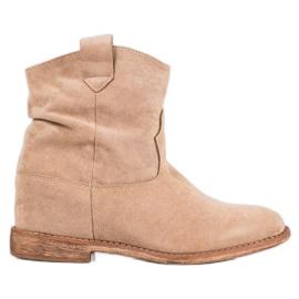 Bella Paris Cowboy støvler på kile