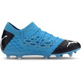 Puma Future 5.3 Netfit Fg Ag M 105756 01 fodboldsko blå blå