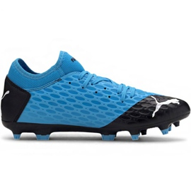 Puma Future 5.4 Fg Ag M 105785 01 fodboldsko blå