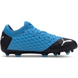 Puma Future 5.4 Fg Ag Jr 105810 01 fodboldsko blå