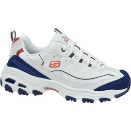 Skechers D'Lites W 13148-WNVR sko hvid