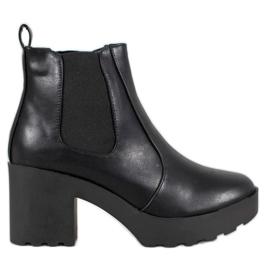 Weide Mode Jodhpur støvler sort