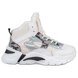 Bella Paris Sneakers med holo-effekt