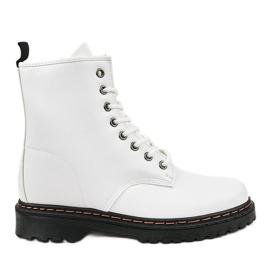 Hvide isolerede støvler DJH01-1
