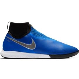 Nike React Phantom Vsn Pro Df Ic M AO3276 400 fodboldsko blå