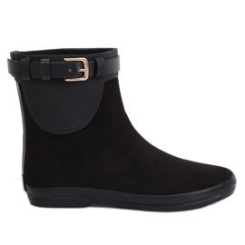Sort wellingtons støvler sort K1890101 Negro