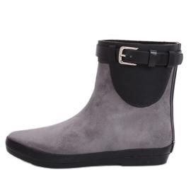 Grå wellingtons damestøvler K1890101 Gris