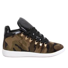 Velvet sneakers K1834206 Camuflaje