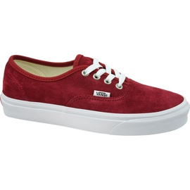 Vans Authentic W VN0A38EMU5M1 sko rød