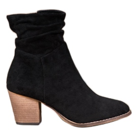 SHELOVET Casual Booties On A Bar sort
