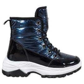 SHELOVET Sport snestøvler blå