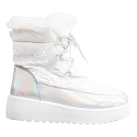Bella Paris Mode snestøvler hvid