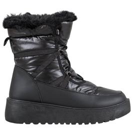 Bella Paris Mode snestøvler sort