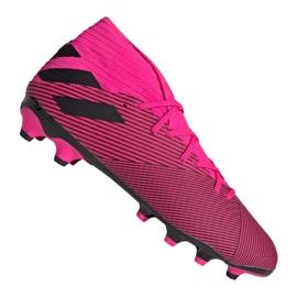 Adidas Nemeziz 19,3 Mg M 024 EF8024 sko pink lilla