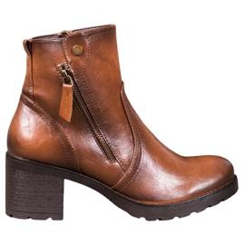 SHELOVET Ankelstøvler brun