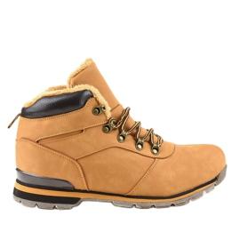 Brunisolerede mænds vandrestøvler 9185-3