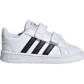 Adidas Grand Court I Jr EF0118 sko hvid