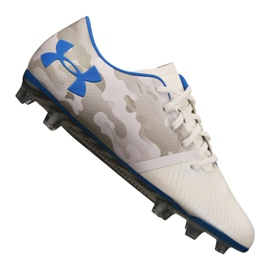 Under Armour Spotlight Fg M 3021747-400 sko grå