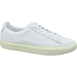 Puma Basket Stitched M 368387 01 sko hvid
