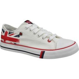 Lee Cooper Low Cut 1 M LCWL-19-530-031 sko hvid