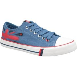 Lee Cooper Low Cut 1 W LCWL-19-530-032 sko blå