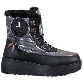 Bella Paris Moderigtige sne støvler grå