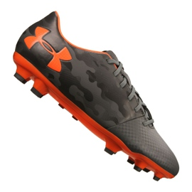Under Armour Spotlight Dl Fg M 1289534-101 fodboldsko grå grå, orange