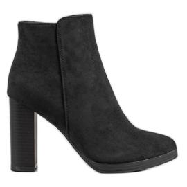 Ideal Shoes Classic High Heels sort