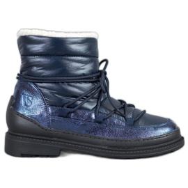 Tekstil sne støvler VICES blå
