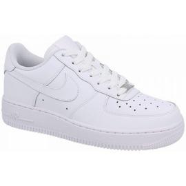 Nike Air Force 1 Gs Jr 314192-117 sko hvid