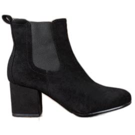 Bestelle Slip-on ankelstøvler sort