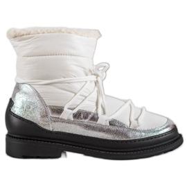 Tekstil sne støvler VICES hvid