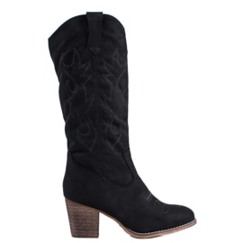 Abloom Cowboy støvler sort