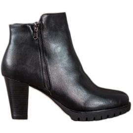 Anesia Paris Elegante ankelstøvler med Eco-læder sort