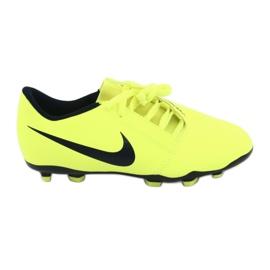 Nike Phantom Venom Club Fg Jr AO0396-717 fodboldsko gul