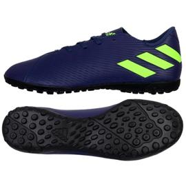 Adidas Nemeziz Messi 19.4 Tf M EF1805 sko navy