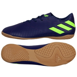 Adidas Nemeziz Messi 19.3 i M EF1810 sko navy